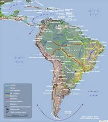 Map Of Mexico And South America by These Maps Show How Vast New Infrastructure Is Bringing The World