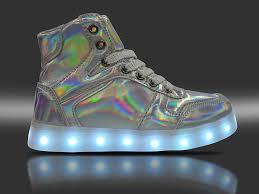 light up shoes that change colors amazon com dayout laser color rechargable led shoes for kids boys