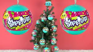 shopkins christmas tree shopkins christmas ornaments youtube