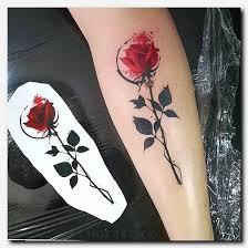 rosetattoo tattoo body side tattoos temporary tattoos for face
