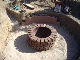 Terra Cotta Fire Pit Home Depot by Articles With Fire Pit Bricks Tag Awesome Fire Pit Materials