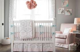 Pale Pink Curtains Decor with Curtains Modern Baby Nursery Valance Design Amazing Pink