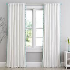 Better Homes And Garden Curtains Pom Pom Blackout Drape Pbteen