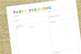 printable party planner checklist party planning checklist free printable party planner 505