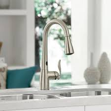 touch faucets for kitchen kitchen faucets quality brands best value the home depot