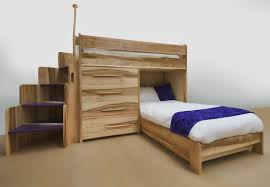 Full Loft Bed With Desk Plans Free by Bunk Beds Twin Over Full Bunk Bed With Stairs And Trundle Full