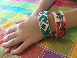 leather bracelet craft images Kid craft simple leather bracelets inner child fun jpg