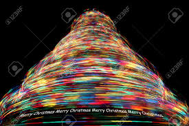 Christmas Tree With Optical Fiber Lights - rotating fiber optic christmas tree christmas lights decoration