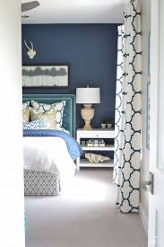 dark blue accent wall bedroom with inspiration image 76538 kaajmaaja