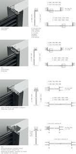 Porta Scorrevole Esterna Dwg by Rimadesio Porte Scorrevoli In Vetro E Alluminio Librerie Cabine