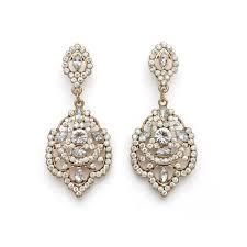 Rose Gold Chandelier Earrings Best 25 Gold Chandelier Earrings Ideas On Pinterest Wedding