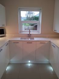 kitchen plinth lights glamorous kitchen in bolton before u0026 after shots bathrooms