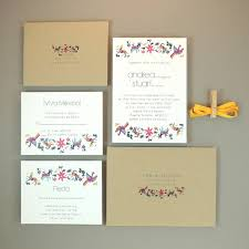 wedding invitation set otomi animals wedding invitation multiculturally wed