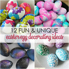 Easter Egg To Decorate by Easter Egg Decorating Ideas Kids Can Do