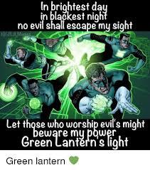 Batman Green Lantern Meme - in brightest da in blackest nigh no evil shall escape my sight gi