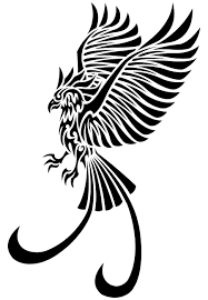 tattoo phoenix bird clipart transparent background