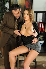 Secretary Fucked On Desk by Kitty Cat Gets Banged On The Desk In Her Black Thong 21sextury