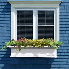 mayne yorkshire 12 in x 48 in vinyl window box 4824w the home