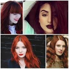 red hair color shades for olive skin 2017 red hair colors for your