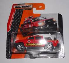 matchbox cars hsb toys matchbox cars toys mbx tacoma lifeguard red 2014 mbx