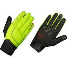 wiggle gripgrab hi vis hurricane gloves winter gloves