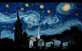 Starry Night Nuit Etoilee Very - van gogh on dark water youtube