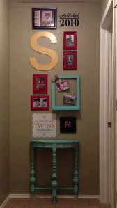 end of hall wall collage things to do for the house pinterest