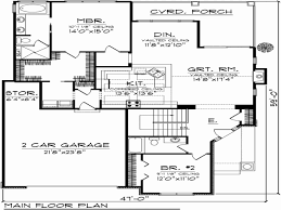 2 bedroom cottage floor plans fresh small 2 bedroom house plans with garage house plan