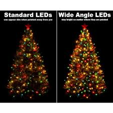 purple christmas lights battery operated led wide angle purple green wire