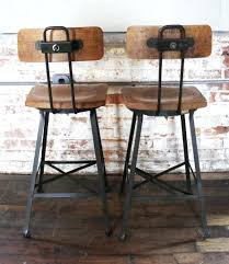 Furniture Elegant Bar Stools Elegant by Furniture Leather Brown Counter Height Bar Stools For Vintage