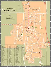 Oregon County Map by Atlas Of Dane County Oregon Wisconsin