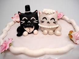 black cake toppers cake topper cat wedding cake toppers black and white wedding
