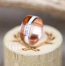 mens wedding bands wood wood antler rings staghead designs design custom wedding