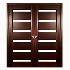 Modern Glass Interior Doors Aries Modern Interior Door With Glass Mdf Thermofoil