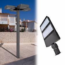 parking lot pole light fixtures outdoor 90 260v 200w 300w street garage parking lot l fixture