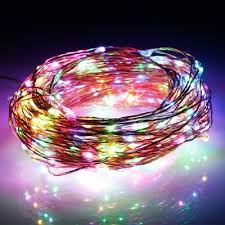 how many feet of christmas lights for 7 foot tree excelvan multi color 300 leds 98 feet string lights copper wire led