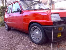 renault turbo for sale 1981 renault 5 gordini alpine solid car huge folder turbo