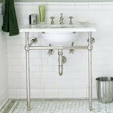 sink with metal legs console sink with a shelfbathroom sinks metal legs meetly co within