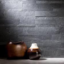 Brown Gray Metal Slate Backsplash by Stone Backsplash Tiles Aspect