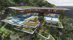 a dream house dream house surrounded by imposing nature