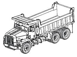 truck coloring pages transportation printable tow u2013 vonsurroquen me