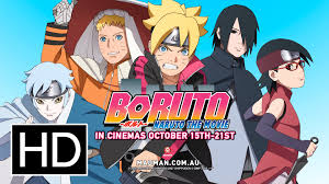 film boruto the movie di indonesia boruto naruto the movie official full trailer youtube