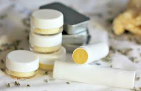homemade lip balm with coconut oil lavender honey