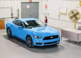 Mustang Black Roof My 2017 Colors Guard Gone Grabber Blue Back Mustang