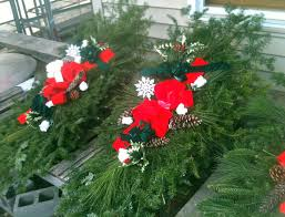 Christmas Grave Decorations Grave Wreaths Holiday Grave Blankets Grave Pillows