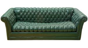 Category Furniture  Home Design Ideas - Hunter green leather sofa