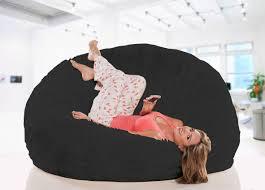 fur bean bag faux fur bean bag chair sumo lounge