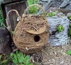 handmade unique garden decor photograph birdhouse with fre