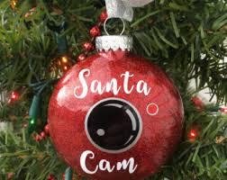 santa ornament santa ornament