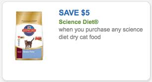 science cat food coupon 5 00 off science diet dry cat food